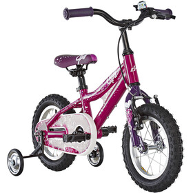 Ghost Powerkid AL 12 Kinder dark fuchsia/pink violet/star white